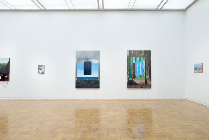 Joe Hedges Installation View