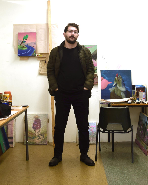 Innovate Grant Winner Parham Ghalamdar